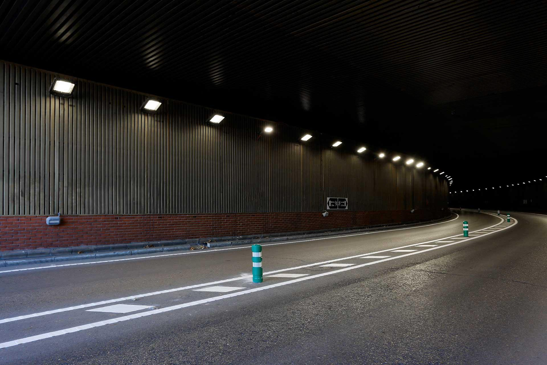 Smart sustainable lighting solution improves safety for Aguas Vivas Tunnel